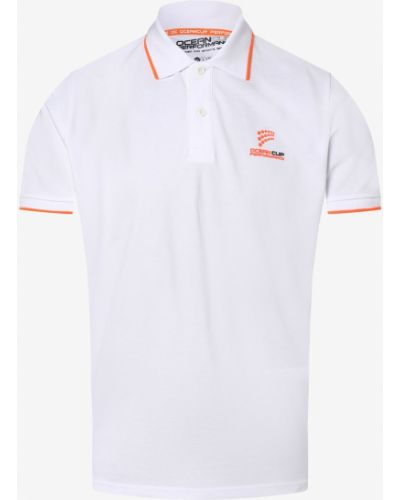 Biały t-shirt Ocean Cup