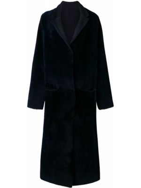 Длинное пальто двустороннее пальто Liska