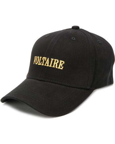 Czarna czapka bawełniana Zadig&voltaire
