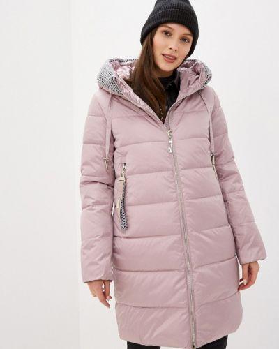 Утепленная розовая куртка Purelife