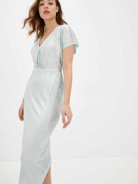 Вечернее платье бирюзовый весеннее Wallis