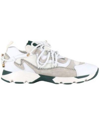 Białe sneakersy Carven
