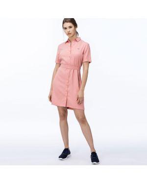 Платье платье-рубашка с отложным воротником Lacoste