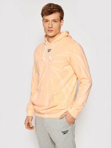 Bluza - pomarańczowa Reebok Classic