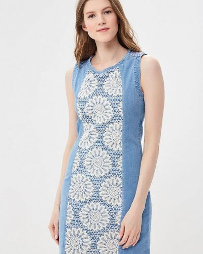 Голубое платье Desigual