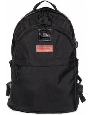 Czarny plecak z haftem Yohji Yamamoto
