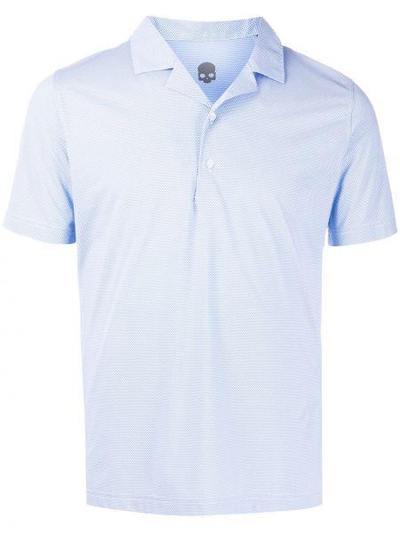 Niebieska koszula krótki rękaw Hydrogen