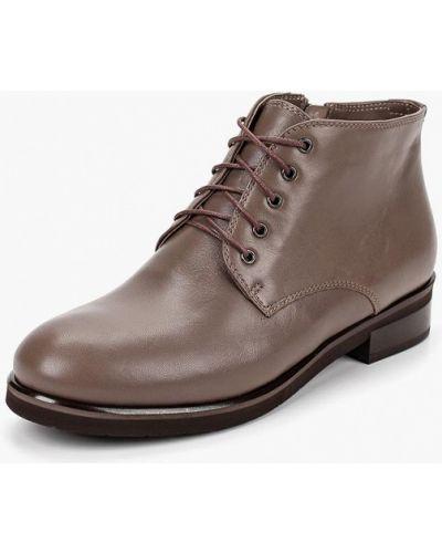 Кожаные ботинки осенние высокие Keryful