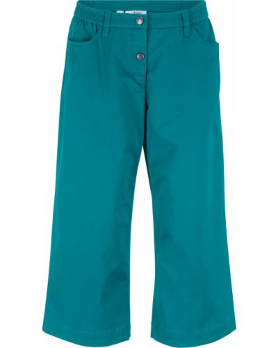 Свободные брюки бирюзовый Bonprix