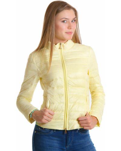 Куртка весенняя с перьями Patrizia Pepe