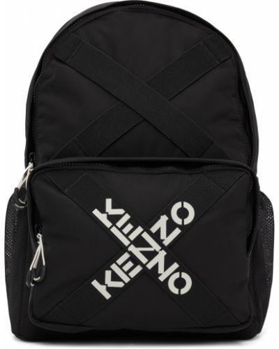 Plecak skórzany - biały Kenzo