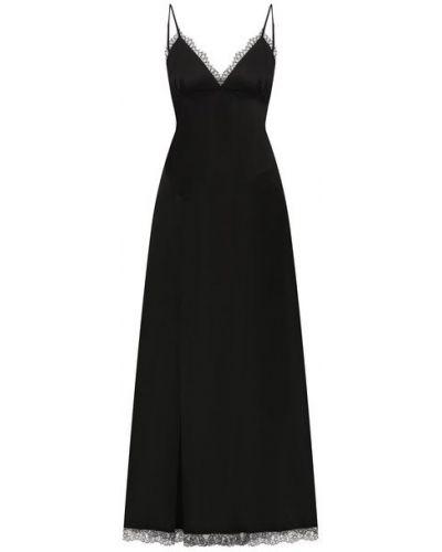 Хлопковое платье - черное Mm6