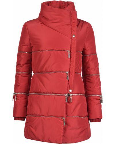Куртка осенняя красная Mangano