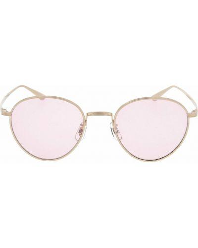Różowe okulary Oliver Peoples