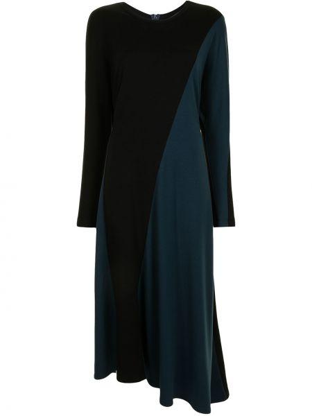 Черное шерстяное платье миди Ginger & Smart