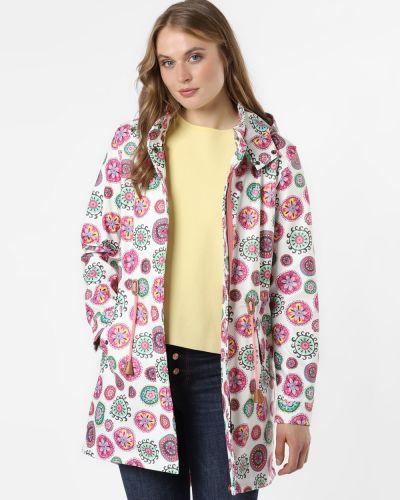 Beżowy płaszcz z bursztynem Amber & June