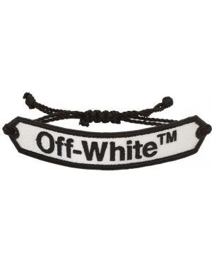 Bransoletka nylon za pełne Off-white