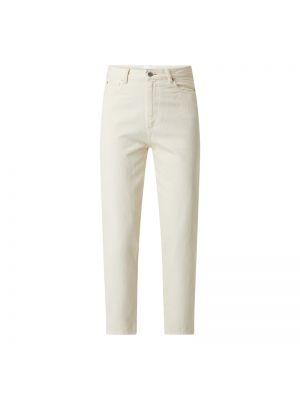 Białe jeansy bawełniane Armedangels