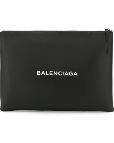 Черный клатч Balenciaga