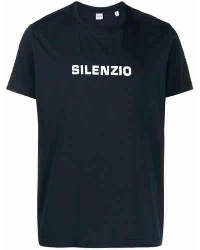 Niebieska t-shirt Aspesi