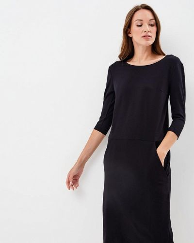 Прямое платье - черное Olga Skazkina