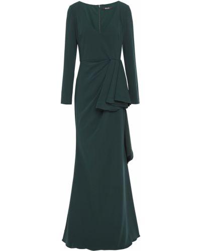 Zielona sukienka na imprezę Badgley Mischka