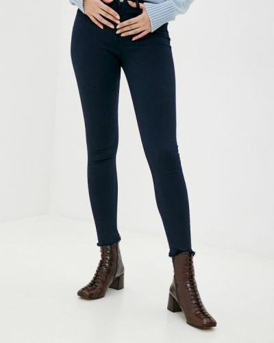 Синие джинсы-скинни узкого кроя Mondigo