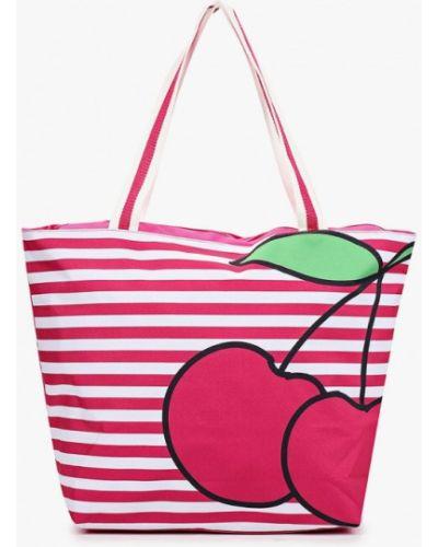 Сумка шоппер - розовая Fabretti