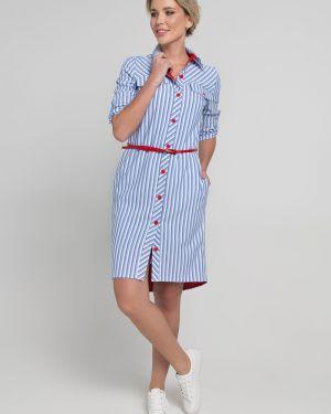 Платье на пуговицах платье-рубашка Sezoni