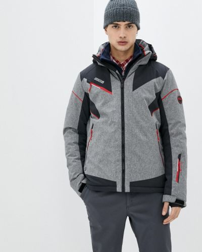 Серая куртка горнолыжная High Experience