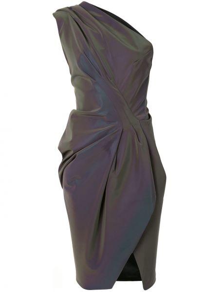 Fioletowa sukienka Maticevski