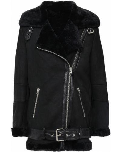 Черная куртка с карманами Muubaa