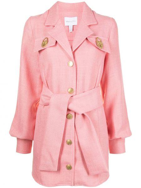 Золотистое прямое розовое платье макси Alice Mccall