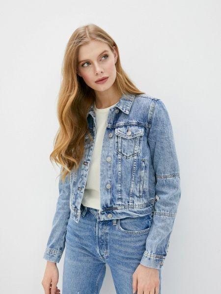 Джинсовая куртка - голубая Free People