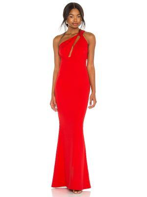 Czerwona sukienka na wesele Katie May