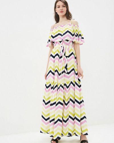 Разноцветное платье Maison De La Robe