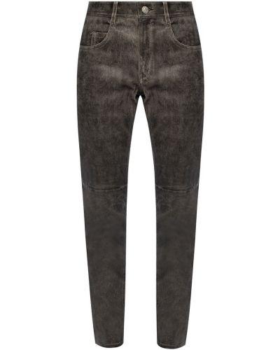 Spodnie rurki - szare Isabel Marant Etoile