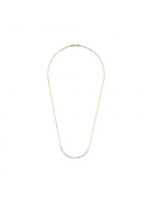 Ażurowy złoty naszyjnik Northskull