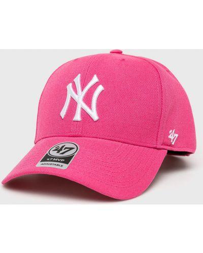 Шапка шерстяная розовый 47brand