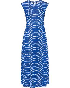 Платье макси с рукавами с вырезом Bonprix