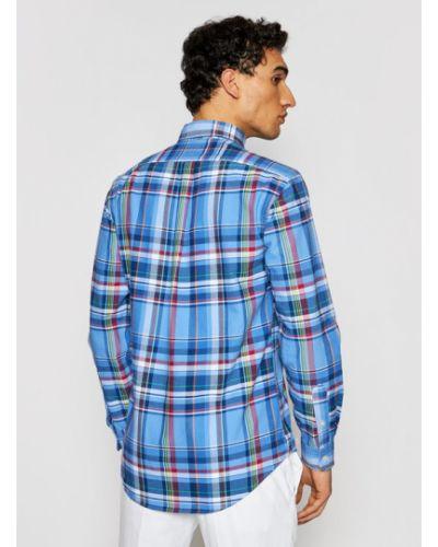 Niebieska koszula oxford Polo Ralph Lauren