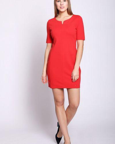 Платье из вискозы красный Taifun