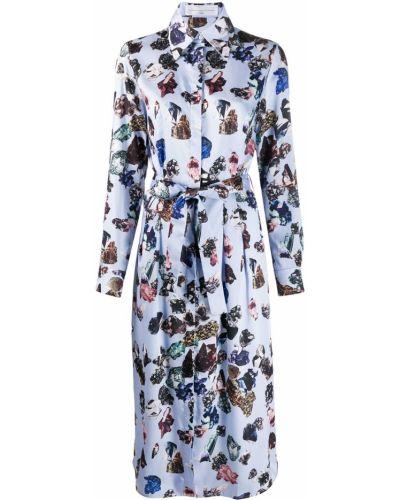 Платье миди классическое платье-рубашка Victoria, Victoria Beckham