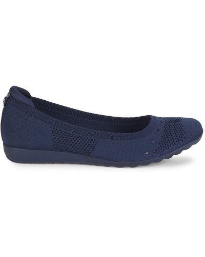 Балетки на каблуке Anne Klein