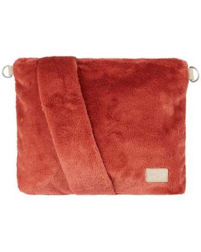 Z paskiem torba na zakupy z zamkiem błyskawicznym sztuczne futro z futrem Barts