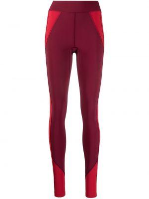 Красные спортивные леггинсы с высокой посадкой с карманами Isabel Marant