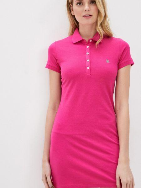 Платье розовое футболка Giorgio Di Mare