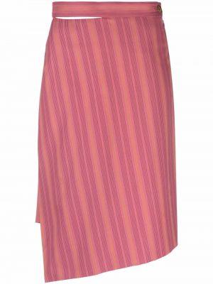 Юбка с завышенной талией - розовая Vivienne Westwood