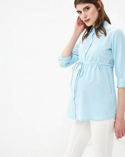 Блузка - голубая 9месяцев 9дней