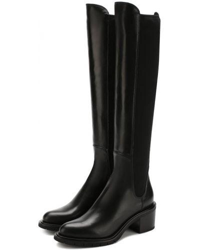 Кожаные сапоги на каблуке Premiata